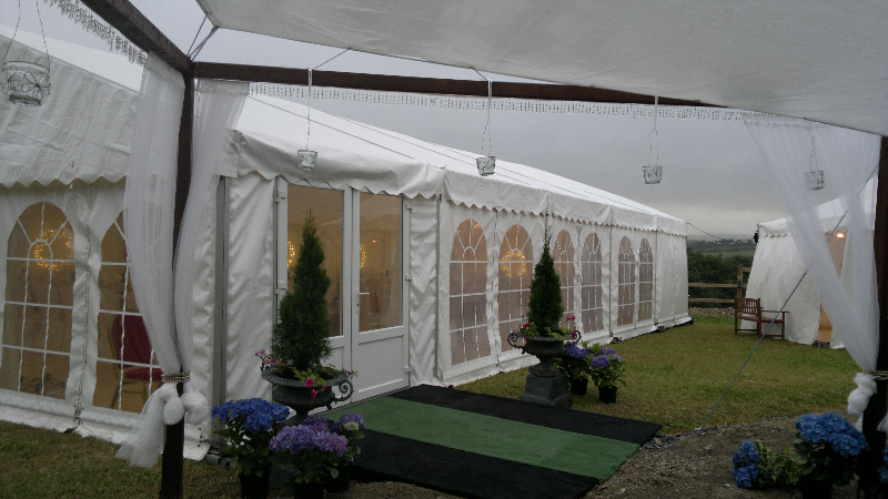 Marquee entrance ext.