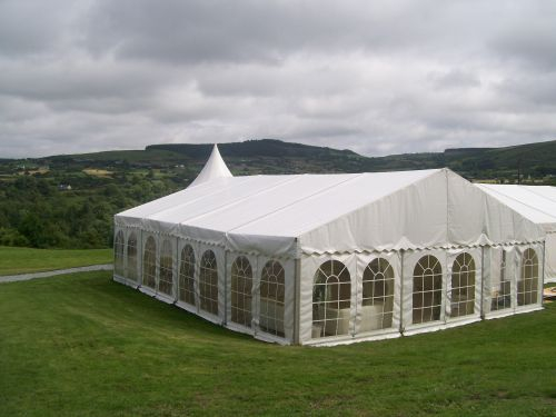 Wedding marquee ext.