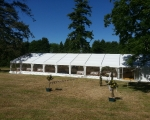 Long dinner marquee ext. 4